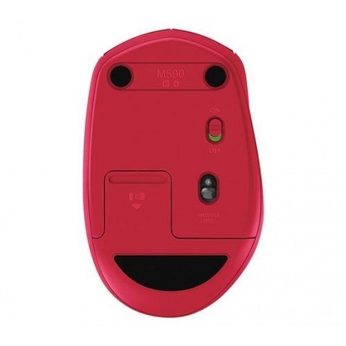 logitech m585 wireless mouse,multi-device - ruby