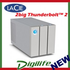 LaCie 12TB 2big Thunderbolt 2 USB 3.0 External Desktop Hard Drive STEY12000400
