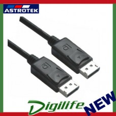 Astrotek DisplayPort DP Cable 2m - 20 pins Male to Male 1.2V 30AWG Gold Plated