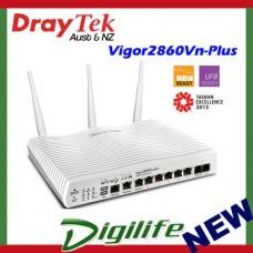 DrayTek Vigor 2860vn-Plus VDSL2/ADSL2+ QUAD WAN VPN Firewall Router DV2860VNP