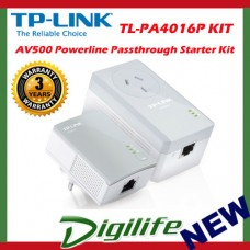 TP-LINK TL-PA4016PKIT - AV500 Powerline Passthrough Starter Kit