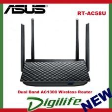 ASUS RT-AC58U AC1300 Dual Band Gigabit Wi-Fi Router NBN Ready