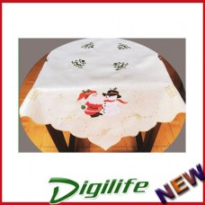 """Vintage Luxury Hand Embroidery and Cutwork Table Cloth Christmas XLY-1111 36*36"""""""