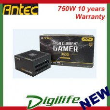 Antec HCG-750G 750w 80+ Gold Fully Modular PSU, 120mm FDB Fan