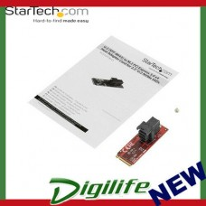 StarTech U.2 (SFF-8643) to M.2 PCI Express 3.0 x4 Host Adapter Card M2E4SFF8643