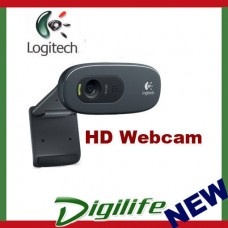 Logitech HD Webcam C270 720p video 3MP snapshot Skype Built-in mic RightSound