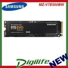 Samsung 970 EVO M.2 (2280) PCIe SSD PN MZ-V7E500BW 500GB