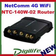 NetComm Industrial 4G WiFi M2M Router NTC-140W-02