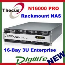 """Thecus N16000PRO Rackmount NAS 16 Bay 3.5"""" Hot-swap, Max 96TB, RAID, 2 x GbE LAN"""