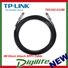 TP-Link TXC432-CU3M 3M Direct Attach SFP+ Cable