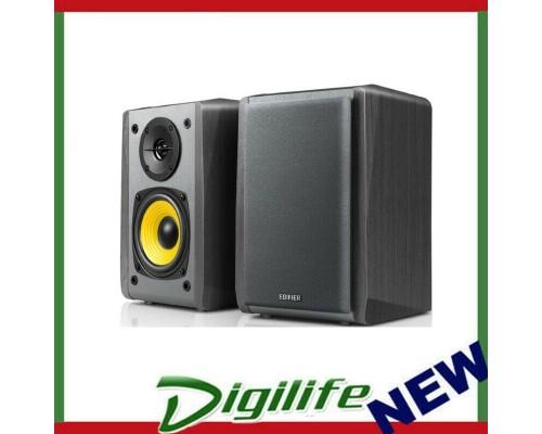 Edifier R1010BT - 2.0 Lifestyle Bookshelf Bluetooth Studio Speakers Black - 3.5m