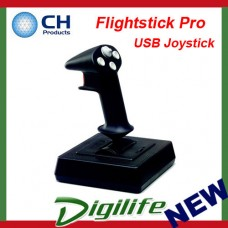 CH Products Flightstick Pro USB Joystick For PC & Mac CH-200-503