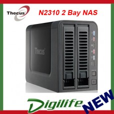 Thecus N2310 2-Bay Diskless Hot Swap SOHO NAS - AMCC APM 86491 800Mhz CPU