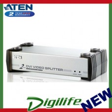 Aten 2 Port DVI Video Splitter w/ Audio - 1920x1200@60Hz