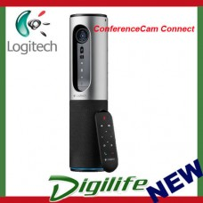 Logitech ConferenceCam Connect Bluetooth Wireless Camera with stand and Mic