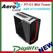 Aerocool Black P7-C1 Mid Tower Chassis (USB3)  AER-4713105958362