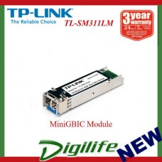 TP-Link TL-SM311LM Gigabit SFP MiniGBIC Module, Multi-Mode, LC Interface, 550m