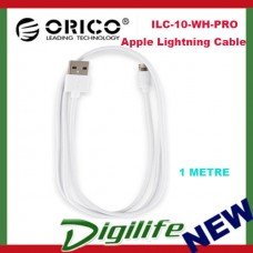 Orico 1m Apple Lightning Cable - White