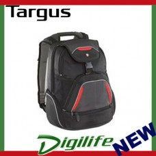 "Targus 16"" Repel SportBackpack Fits up to 16"" NB Blk/Red/Grey TSB034AU"