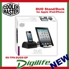 Cooler Master DUO Silver Stand/Dock for Apple iPad/iPhone R9-TPS-DUOS-GP