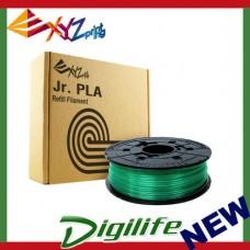 XYZ Da Vinci 3D printer Filament PLA (NFC) Clear GREEN 600G RFPLCXNZ04H