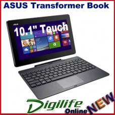 "ASUS T100TAF Transformer Book 10.1"" Touch QuadCore Z3750 2GB 64GB WIFI cam Win8"
