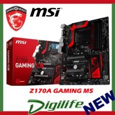 MSI Z170A GAMING M5 LGA 1151 DDR4 HDMI DVI ATX Motherboard Intel Skylake