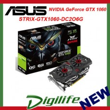 ASUS GeForce GTX 1060 ROG Strix 6GB OC Edition Video Card