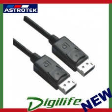 Astrotek DisplayPort DP Cable 5m 20 pins Male to Male 1.2V 30AWG Gold Plated