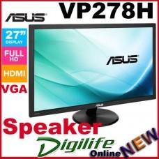 """ASUS VP278H 27"""" Full HD LED Monitor 1MS 2xHDMI VGA Speakers 1080p"""