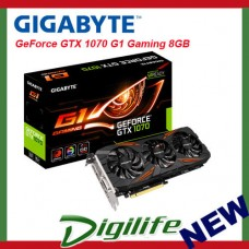 Gigabyte GeForce GTX 1070 G1 Gaming 8GB Video Card GV-N1070G1 Gaming-8GD