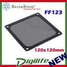 Silverstone FF123B 120mm Ultra Fine Magnetic Fan Dust Filter 120x120mm square