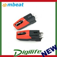 mbeat Turntable Stylus Cartridge Kit - Twin Pack MB-STYLUS-01