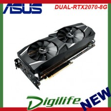 Asus nVidia GeForce RTX 2070 Dual 8GB GDDR6 Gaming Graphics Video Card HDMI DP