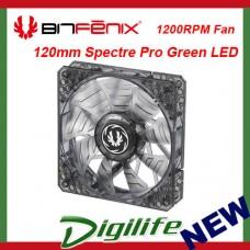 BitFenix Spectre PRO Series 120mm Green LED Case Fan