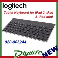 Logitech Tablet Keyboard for iPad, iPad 2, iPad mini - Bluetooth