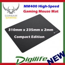 Corsair MM400 High-Speed Gaming Mouse Cloth Mat - Compact Edition
