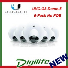 Ubiquiti Networks UVC-G3-DOME-5 FHD H.264 IP Dome Surveillance Camera - 5 Pack