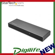 Startech Thunderbolt 3 Dock - Mac & Windows - Dual 4K 60Hz - 85W Power Delivery