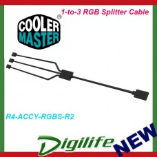 Cooler Master 1-to-3 RGB Splitter Cable (Black)