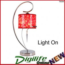 Simple Modern Elegant and Fashionable Bedside & Living room Table Lamp Red T6094