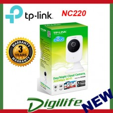 TP-LINK NC220 Day/Night Cloud Camera, 300Mbps Wi-Fi Night Vision H.264