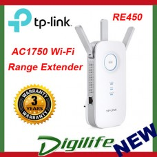 TP-LINK RE450 AC1750 Wi-Fi Range Extender Wireless Repeater Bridge
