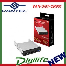 Vantec UGT-CR961 3.5'' Internal Multi Card Reader - USB 3.0; eSATA; Audio Port
