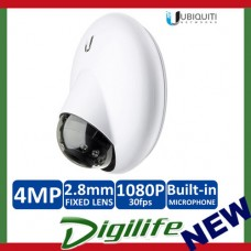 Ubiquiti UniFi G3 Dome Video Surveillance Camera IP IR 1080P H.264 UVC-G3-DOME