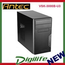 Antec VSK-3000B-U3 Front 2xUSB 3.0 ATX Micro-ATX Tower Computer PC Case