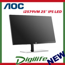 "AOC 25"" I2579VM IPS LED Full HD Monitor 5ms Slim VGA HDMI 1080P"