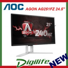 "AOC Agon AG251FZ 24.5"" FHD 240Hz FreeSync Gaming WLED Monitor"