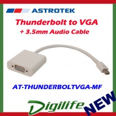 Astrotek Thunderbolt to VGA + 3.5mm Audio Cable