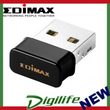 Edimax EW-7611ULB 2-In-1 WiFi & Bluetooth 4.0 Nano USB Adapter Linux MacOS Win10